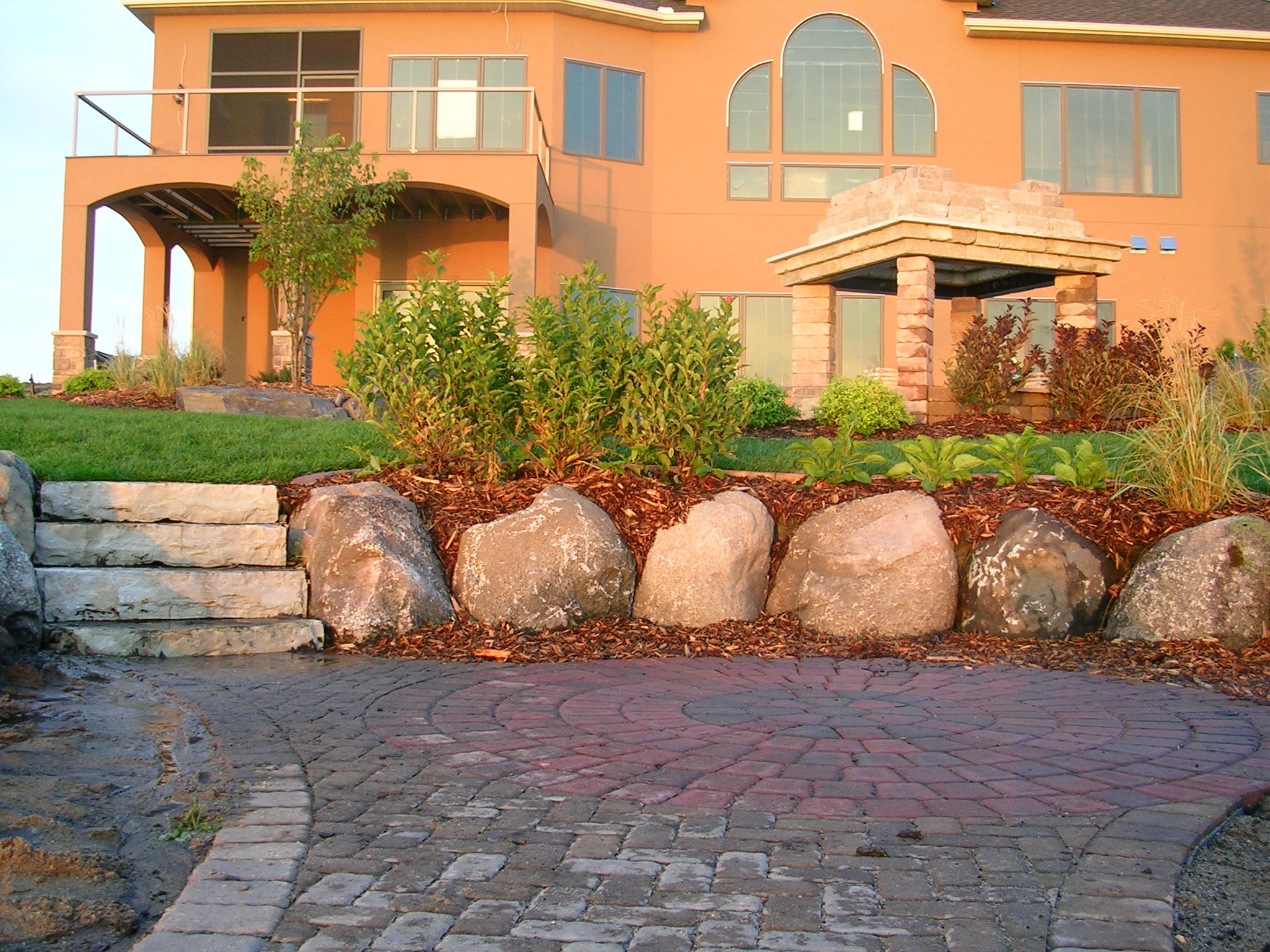 lakefront landscaping ideas - Residential Landscape Design Ideas