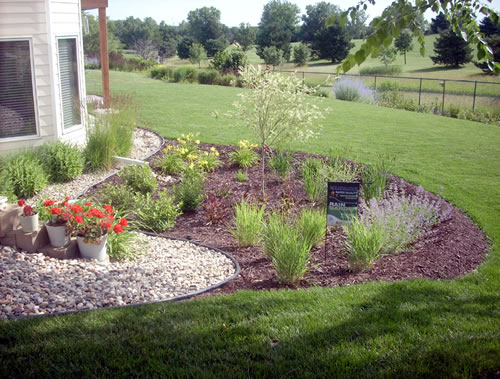 Rain Garden Installation Design Ideas Grant Money MN Landscaping